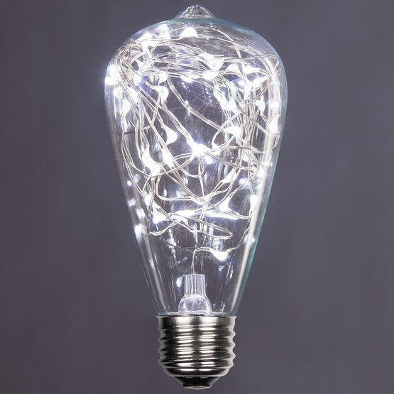 ST64 LEDimagine TM Fairy Light Bulb, Cool White