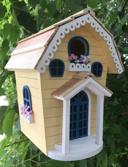 Valley Garden Cottage Hanging Bird House