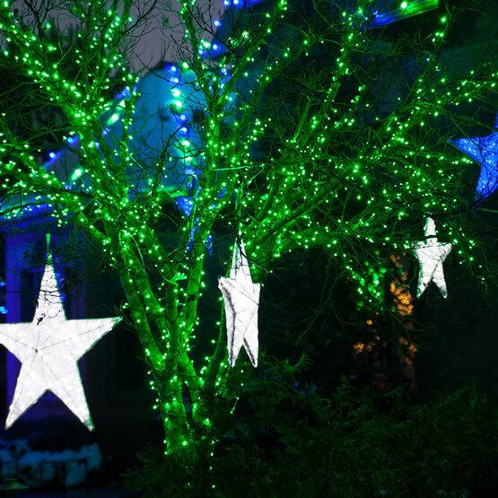 green led christmas lights 50 ct 5mm mini
