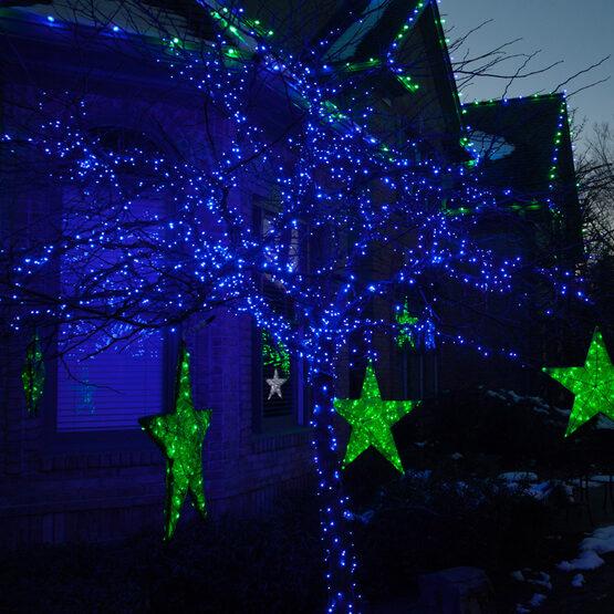 Blue Outdoor LED String Lights, 50 ct, 5MM