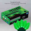 C7 LED String Lights, Green, Green Wire