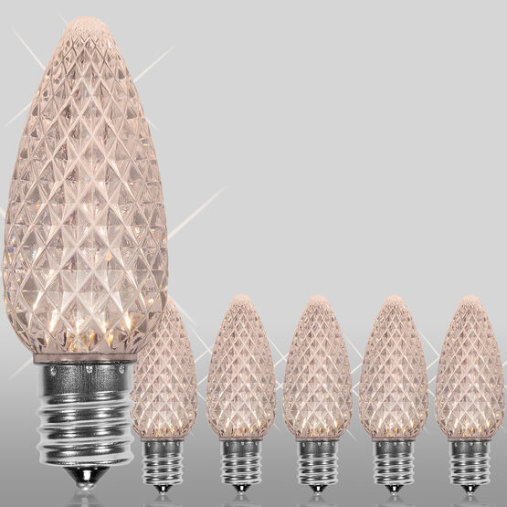 C9 OptiCore TM LED Light Bulbs, Warm White Twinkle
