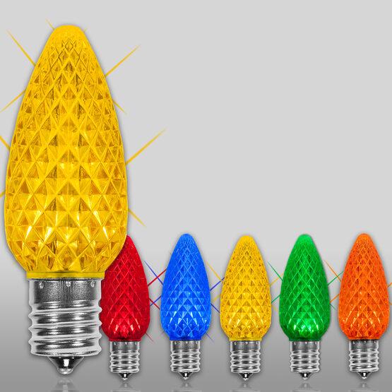 C9 OptiCore TM LED Light Bulbs, Multicolor Twinkle
