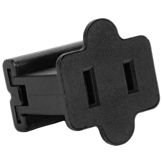 SPT1 Polarized Female Zip Plug, Black