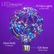G125 LEDimagine TM Fairy Globe Light Bulb, RGB Color Change