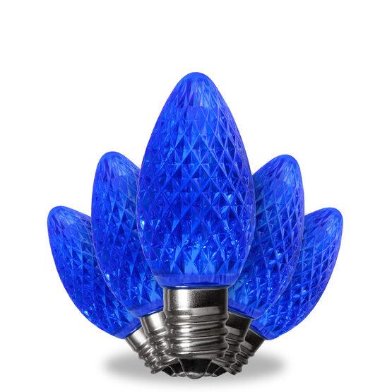 C7 LED Light Bulbs, Blue, by Kringle Traditions TM