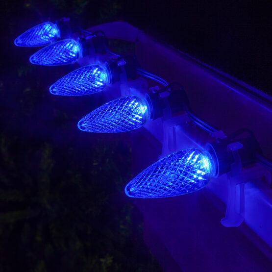 C9 LED Light Bulbs, Blue, by Kringle Traditions TM