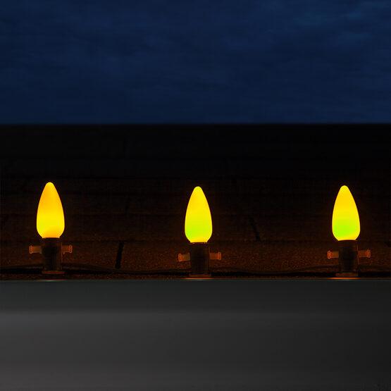 C9 Smooth OptiCore TM LED Light Bulb, Gold