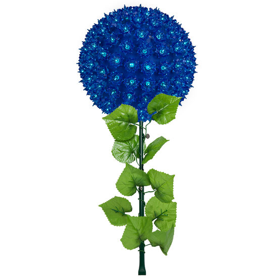Light Sphere Stake, Blue