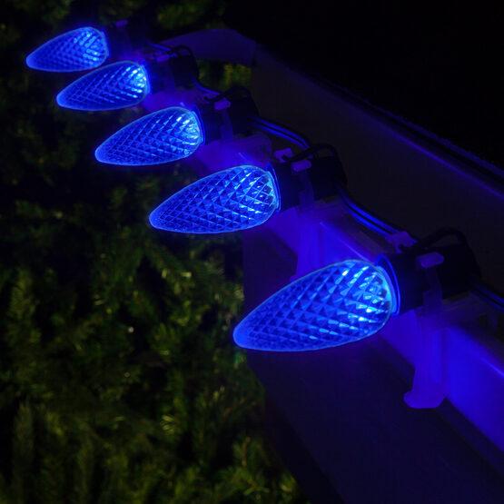 Opticore TM C9 Commercial LED String Lights, Blue