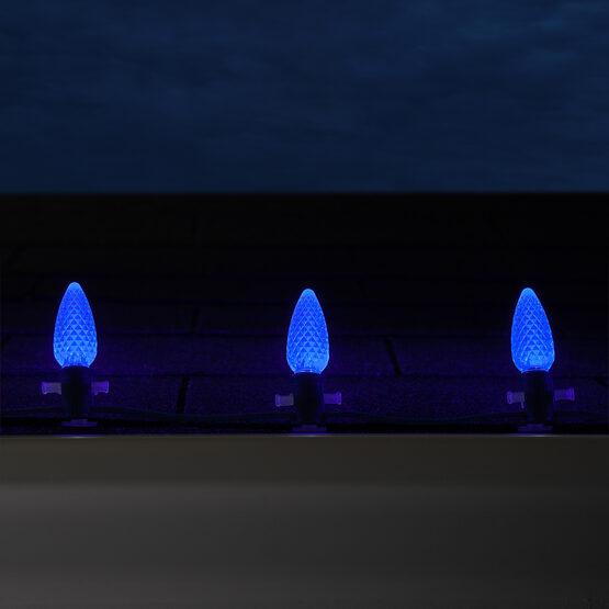 Opticore C9 Commercial LED String Lights, Blue