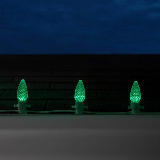 Opticore TM C9 Commercial LED String Lights, Green