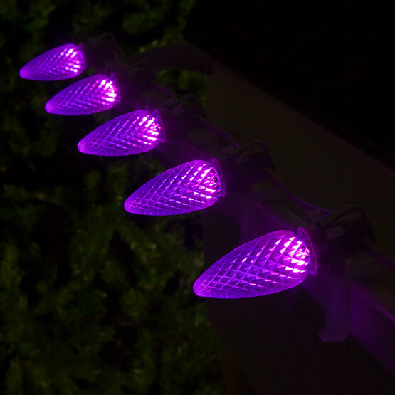 Opticore TM C9 Commercial LED String Lights, Purple