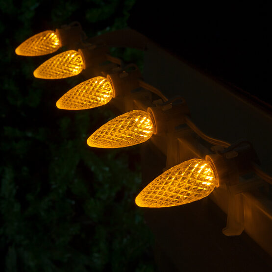 Opticore TM C9 Commercial LED String Lights, Gold