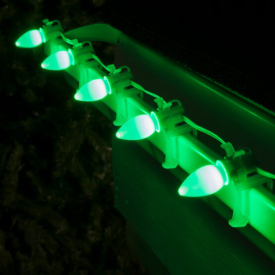 Smooth Opticore C7 Commercial LED String Lights, Green