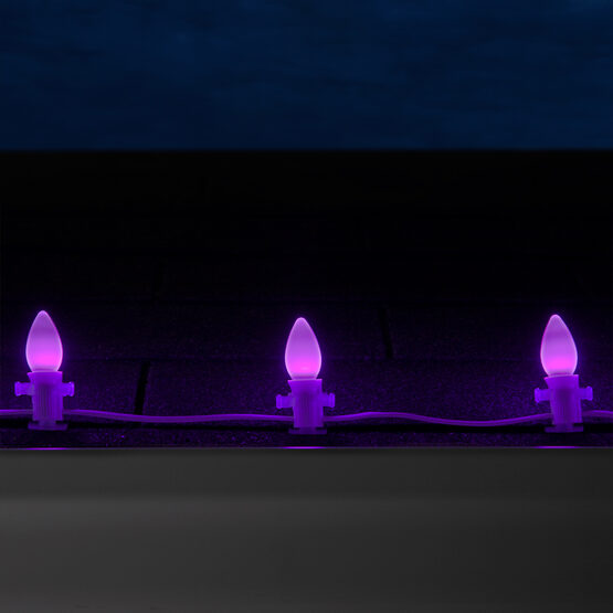 Smooth Opticore C7 Commercial LED String Lights, Purple