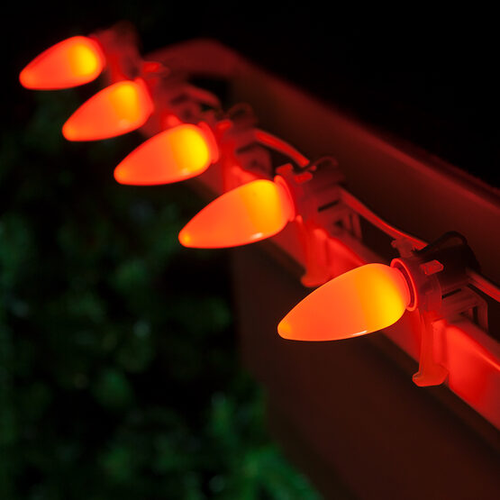 Smooth Opticore C9 Commercial LED String Lights, Amber