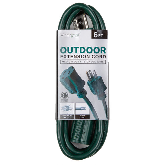 Green Medium Duty Extension Cord