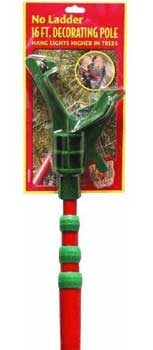 16' Christmas Decorating Pole with Adaptor