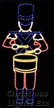 """72"""" Toy Soldier w/ Drum"""