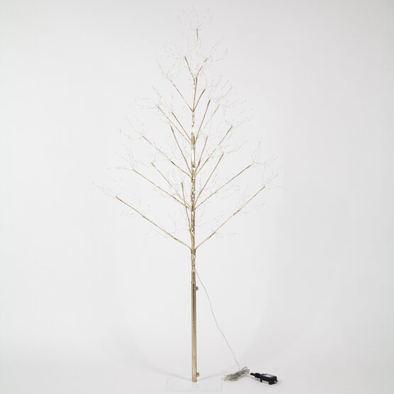 5' Gold Fairy Light Tree, Warm White LED Lights