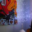 4' Silver Fairy Light Tree, Cool White LED Lights