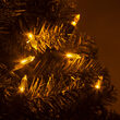 T5 Mini Christmas String Lights, Gold, Green Wire