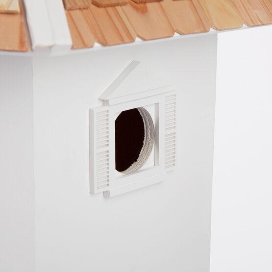 White Danbury DoveCote 6 Room Bird House