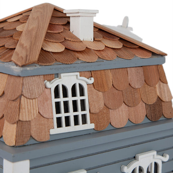 Sag Harbor Bird House with Mansard Roof