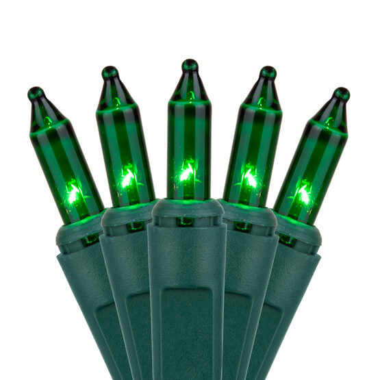 Commercial Green Mini String Lights