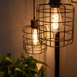 ST64 5W FlexFilament TM LED Edison Light Bulb, Warm White Glass