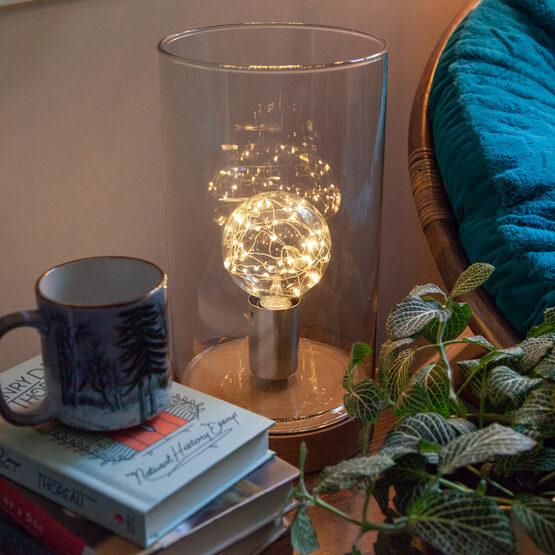 G95 LEDimagine TM Fairy Globe Light Bulb, Warm White