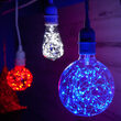 G95 LEDimagine TM Fairy Globe Light Bulb, Blue