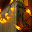Chili Pepper Light Set, 35 Yellow Lights