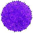 Light Sphere Stake, Purple