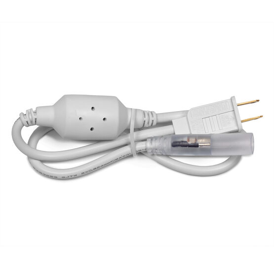 13MM Power Cord for LED Rope Light, 1 Pack