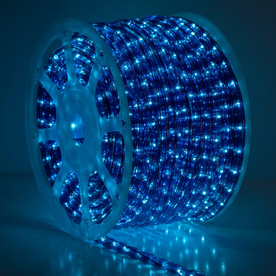 Blue Rope Lights, 120 Volt