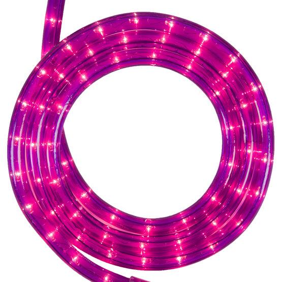"18' Purple Rope Light, 120 Volt, 1/2"""
