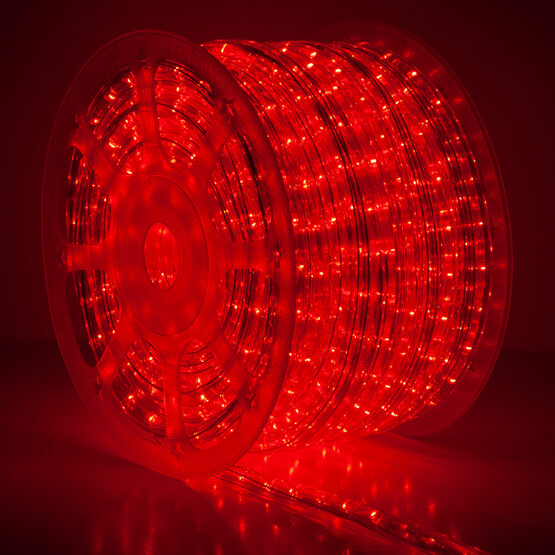 Red Rope Lights, 120 Volt