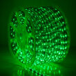 Green LED Rope Light, 120 Volt