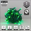 Green Outdoor LED String Lights, 50 ct, 5MM