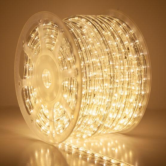 """150' Warm White LED Rope Light, 120 Volt, 1/2"""""""