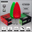 Opticore TM C9 Commercial LED String Lights, Red/Green