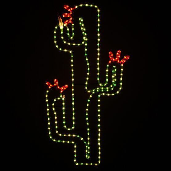 "36"" Blooming Cactus"