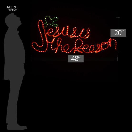 "20"" Jesus is the Reason"