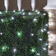 4' x 6' M5 LED Net Lights, Cool White, Green Wire