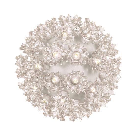 """6"""" Light Sphere, 70 Warm White LED Lights"""