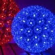 """6"""" Light Sphere, 70 Blue LED Lights"""