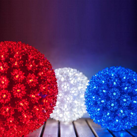 """6"""" Light Sphere, 70 Red LED Lights"""