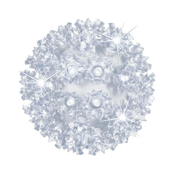 "6"" Light Sphere, 70 Twinkle Cool White LED Lights"